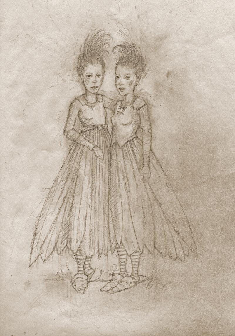 Bird Girls by Terri Windlingi