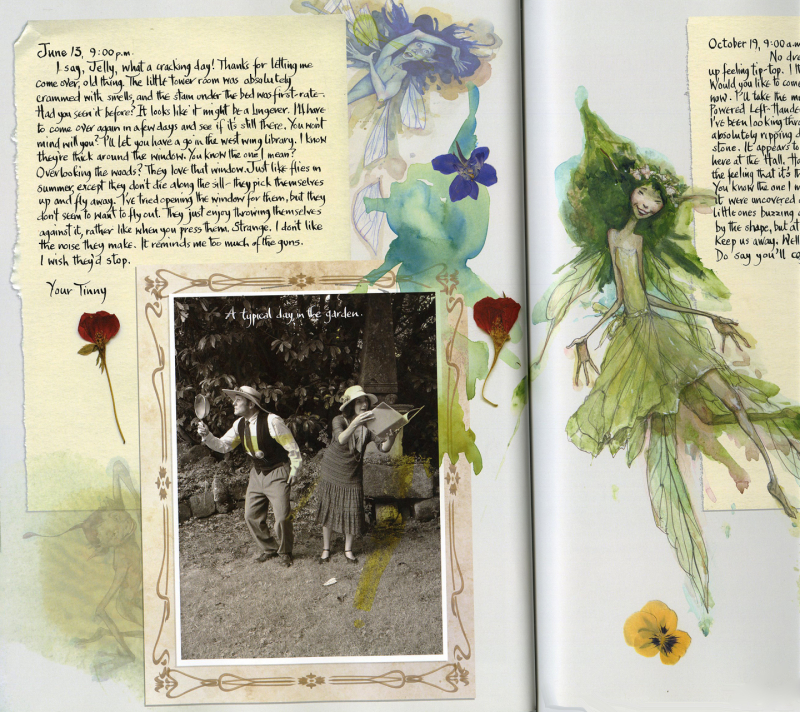The Pressed Fairy Journal of Madeline Cottington by Brian and Wendy Froud