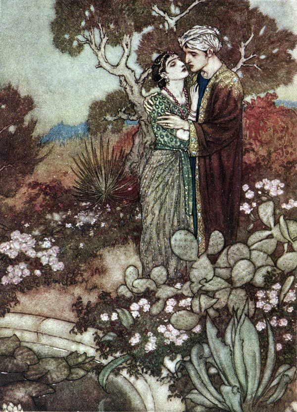 The Rubaiyat of Omar Khayyam by Edmund Dulac