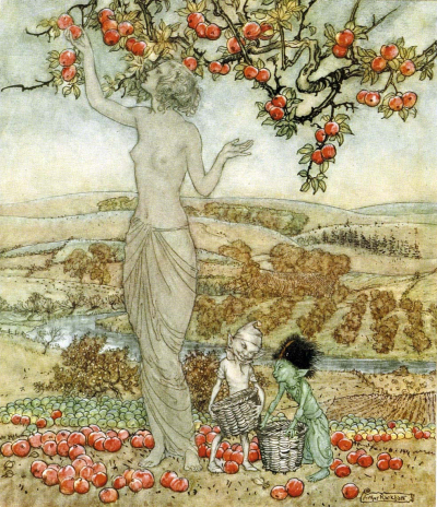 Pomona by Arthur Rackham
