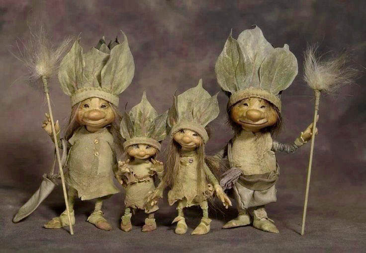 Faery Family by Wendy Froud
