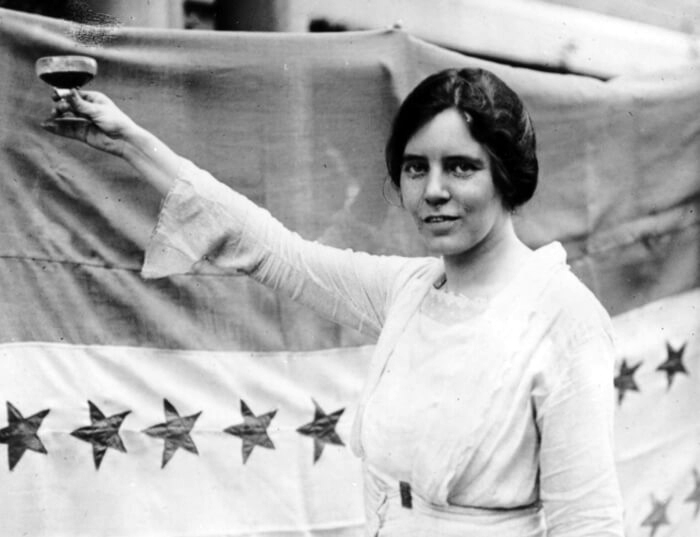 American suffragist Alice Paul