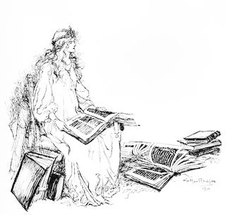 Drawing by Arthur Rackham