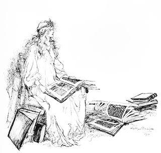 Drawing by Arthur Rackham