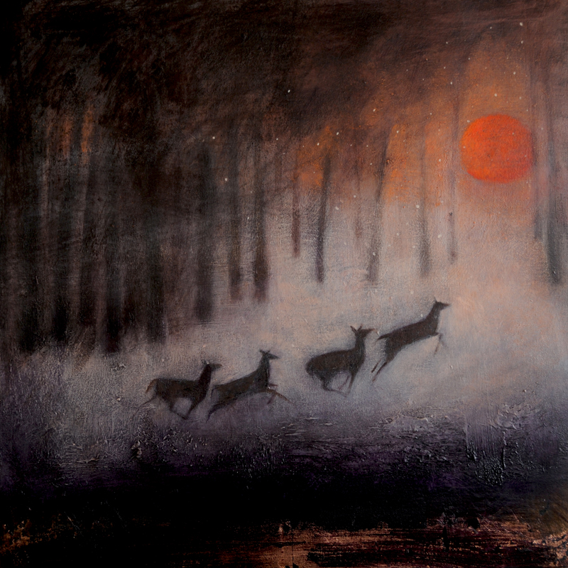 The Running of the Deer by Catherine Hyde