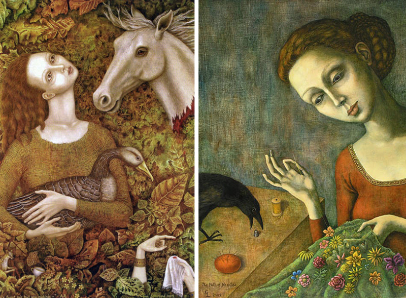 The Goose Girl & The Path of Needles by Gina Litherland
