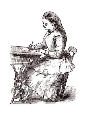 Victorian-era illustration, artist unknown