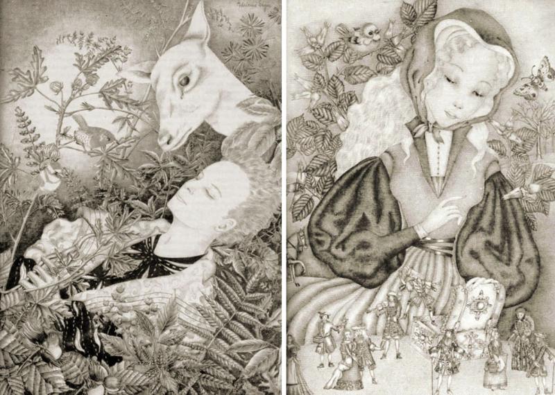 The White Deer and Grace & Derek by Adrienne Segur
