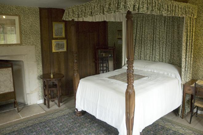The Willow Bedroom at Kelmscott Manor