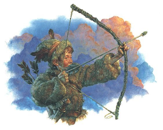Peter Pan by Scott Gustafson
