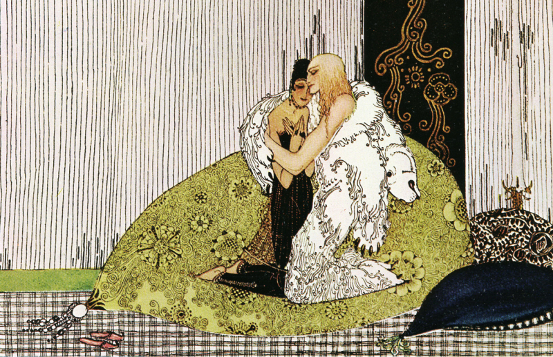 East of the Sun, West of the Moon illustrated by Kay Nielsen
