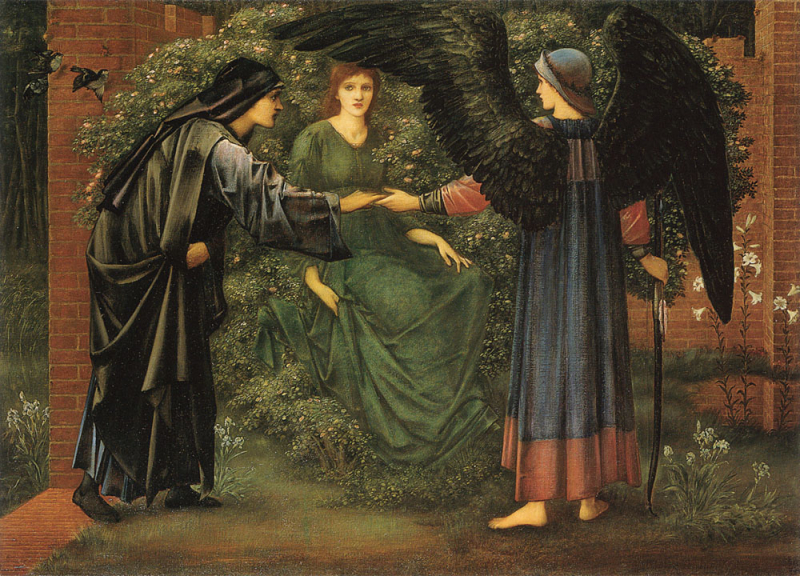 The Heart of the Rose by Sir Edward Burne-Jones