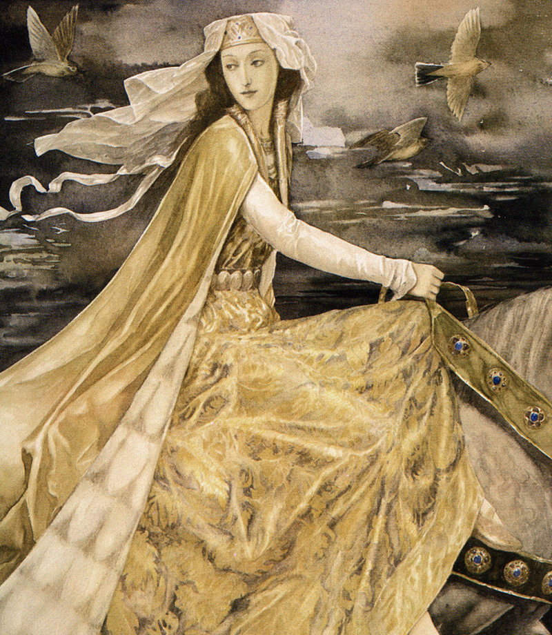 The Mabinogion by Alan Lee