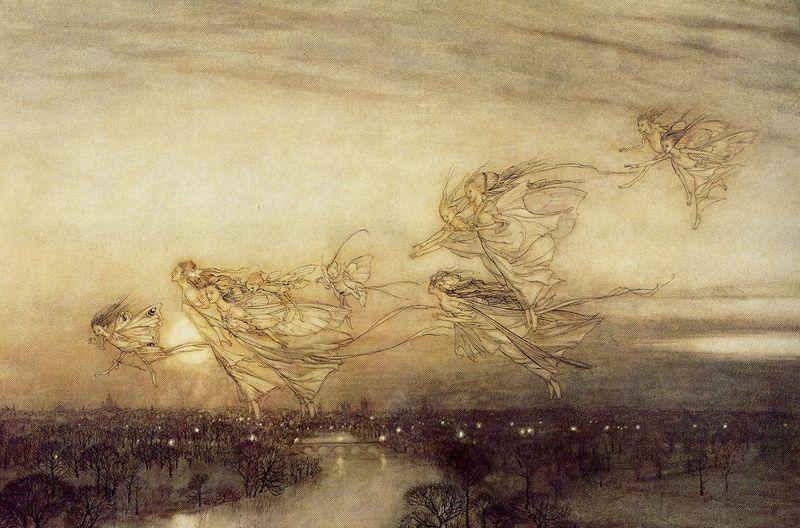 Twilight Dreams by Arthur Rackham