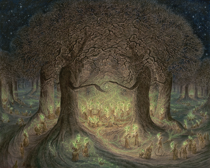 In the Heart of the Woodland Wakes by Virgina Lee