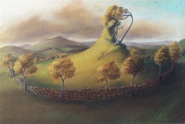 Musical Land by Virginia Lee