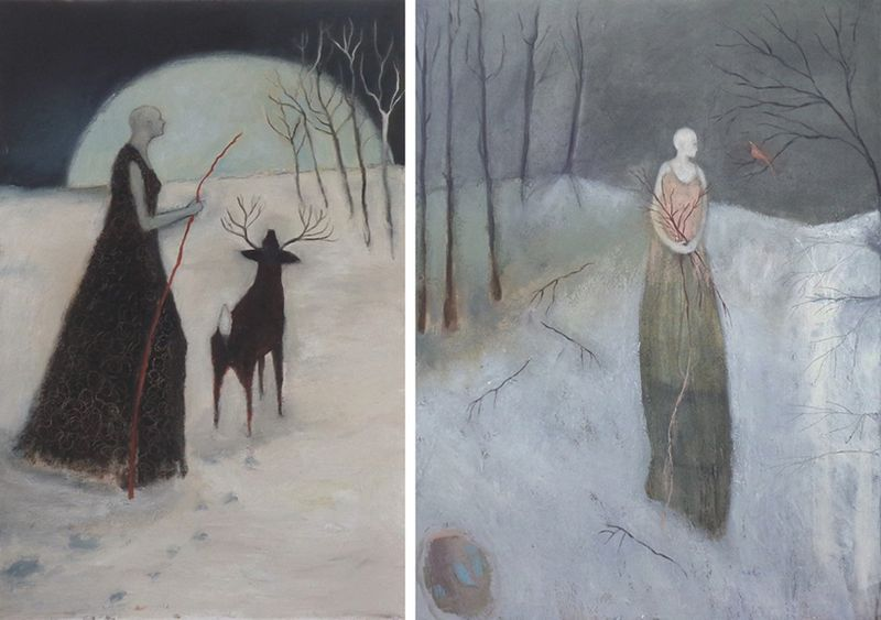Moon of the Long Nights & Kindling by Jeanie Tomanek