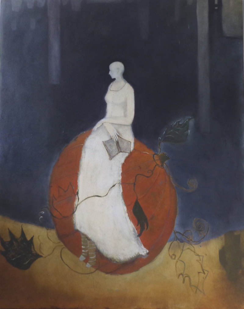Thoreau's Pumpkin by Jeanie Tomanek