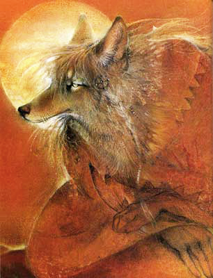 Coyote Woman Waits by Susan Seddon Boulet