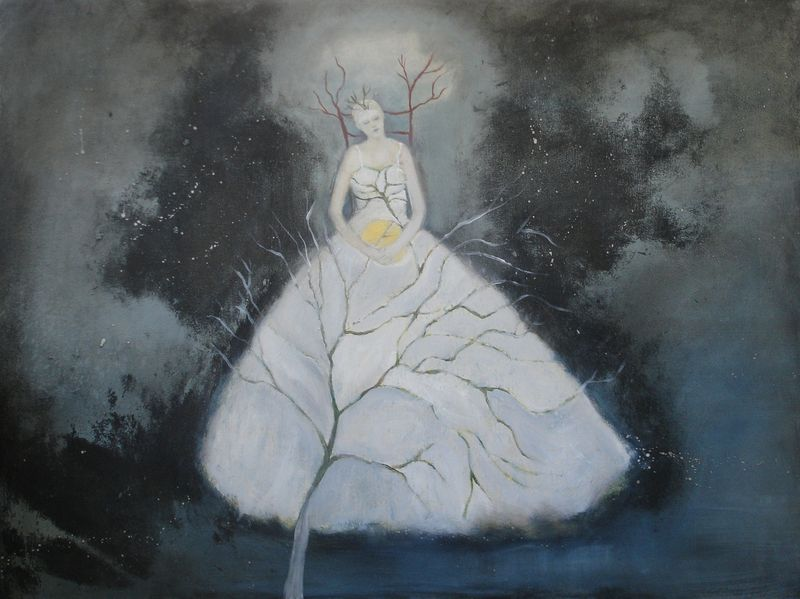 Capturing the Moon by Jeanie Tomanek