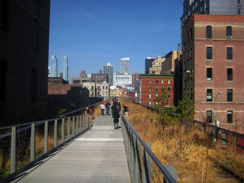 The High Line, NYC, 2012