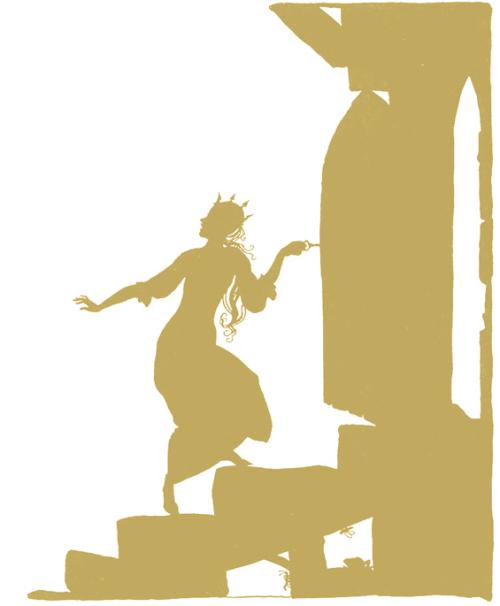 Sleeping Beauty by Arthur Rackham 2