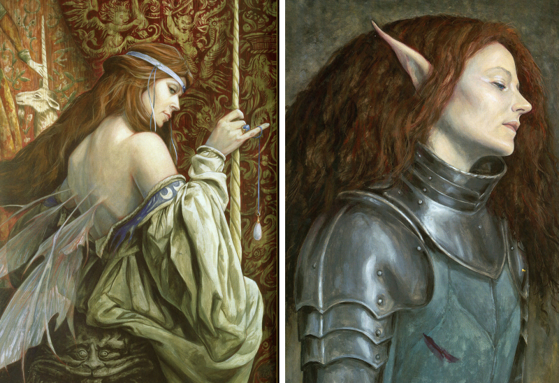 The Lady & the Unicorn and The King's Knight by Brian Froud