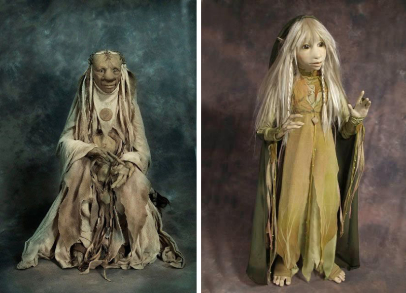 Wise Woman and Gelfling by Wendy Froud