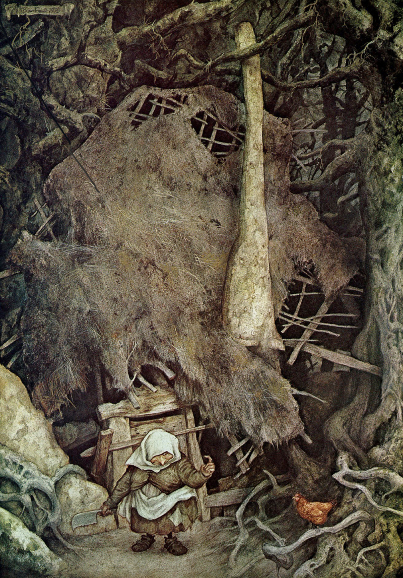 Come Here by Brian Froud