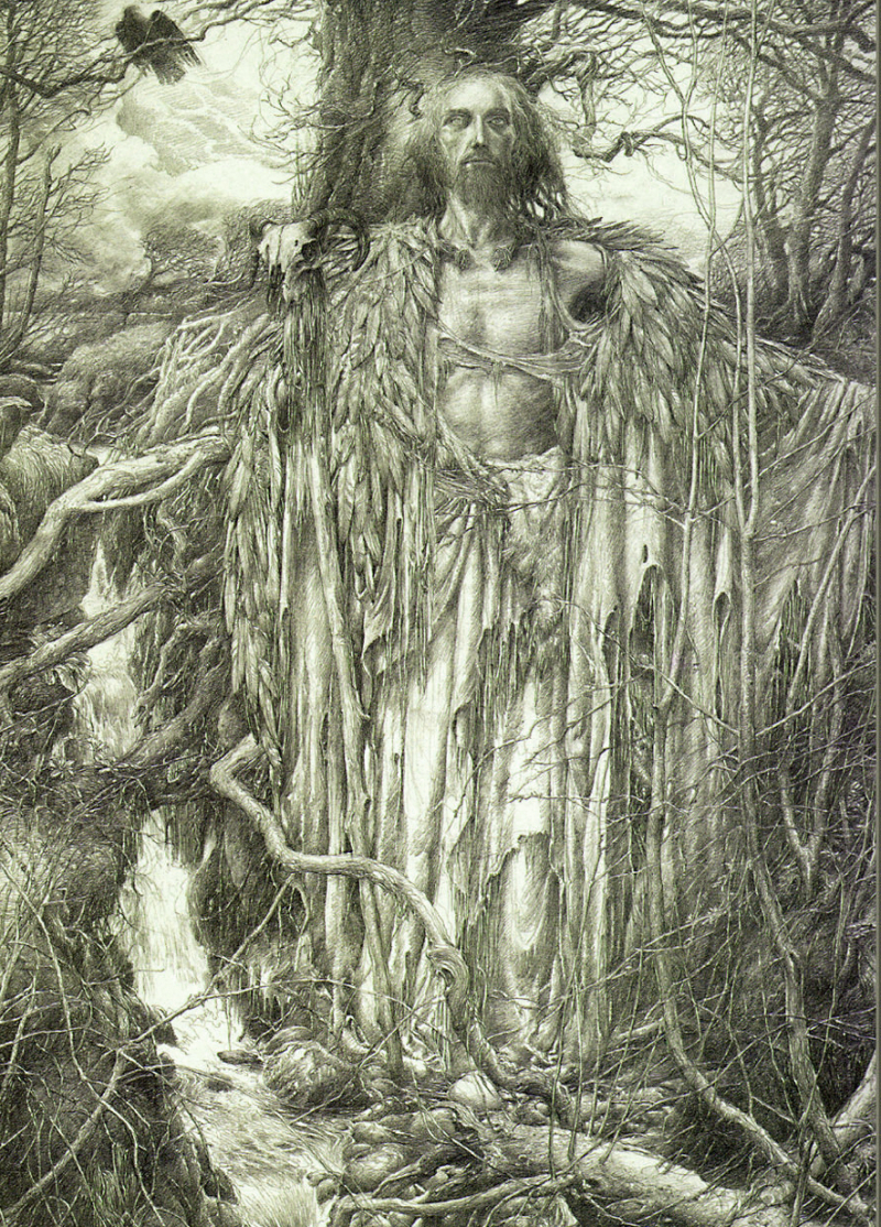Merlin by Alan Lee