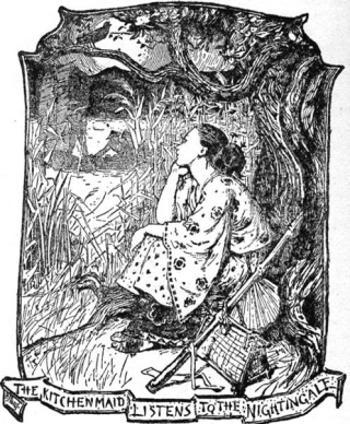 The Nightingale by Henry Justice Ford (1860-1940)