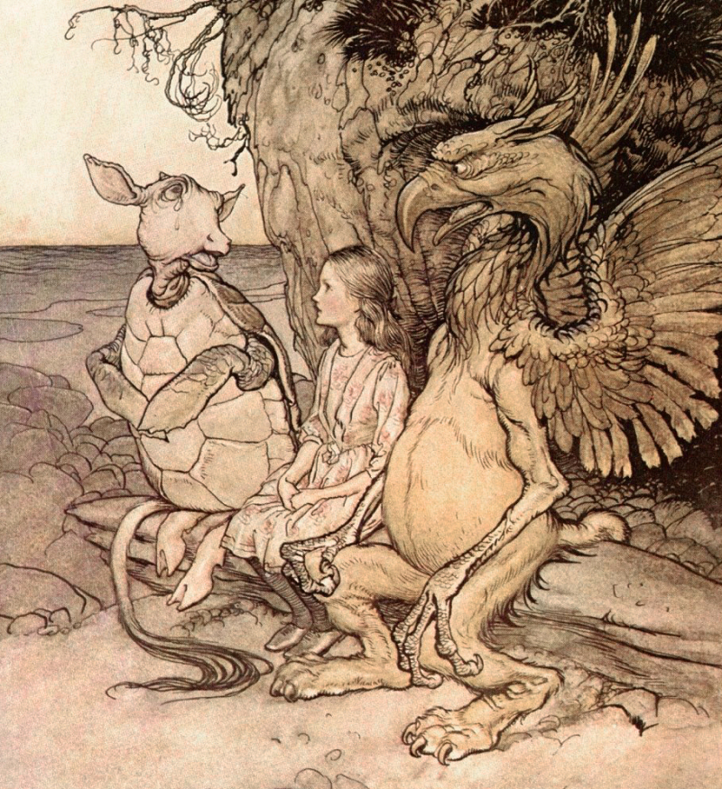 Alice in Wonderland by Arthur Rackham