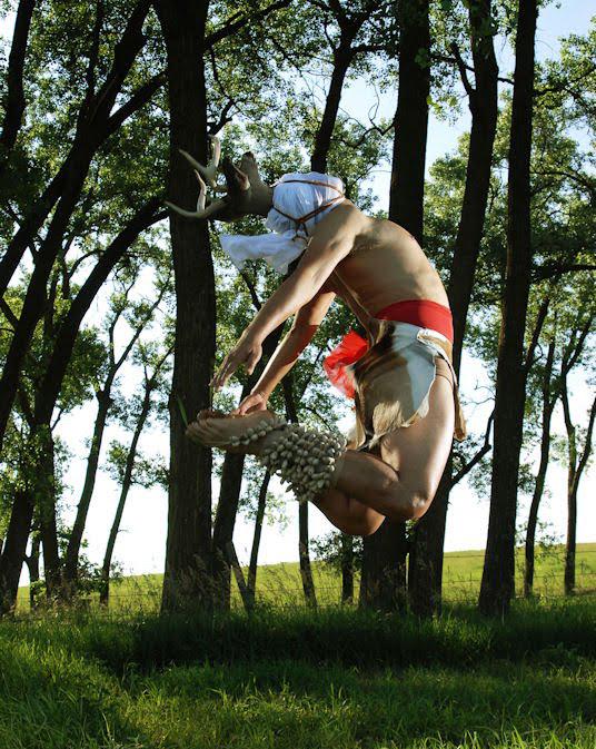 Deer Dance by Kyle Bowman