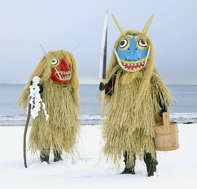 Yokai spirits in Akita Prefecture, Japan (photograph by Charles Fréger)