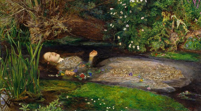 Ophelia by Millais