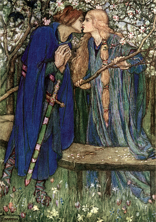 From William Morris' ''The Defence of Guenevere'' by Florence Susan Harrison