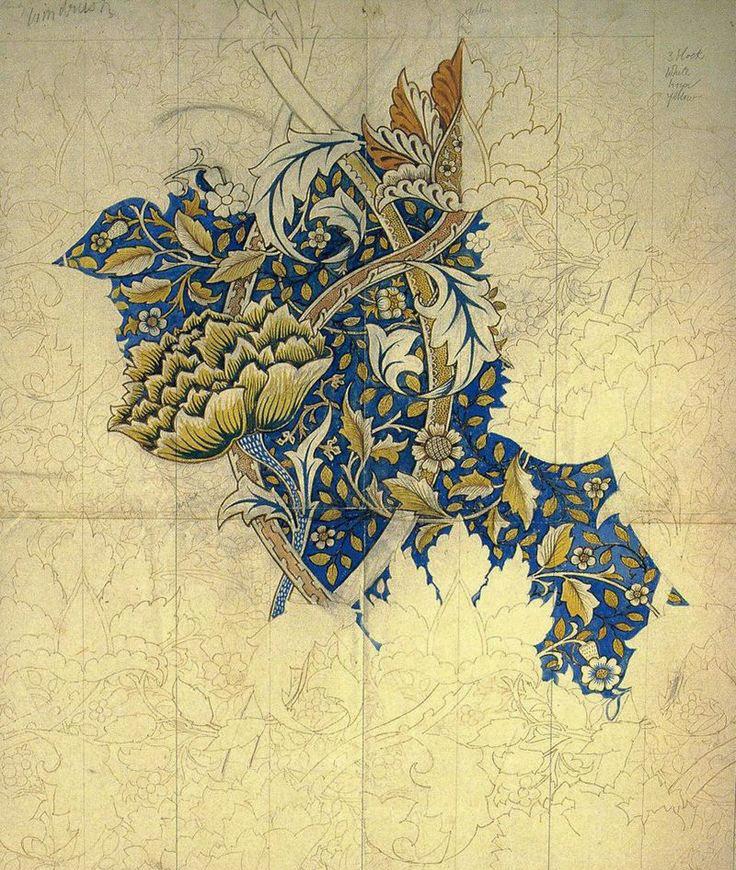 Windrush design by William Morris