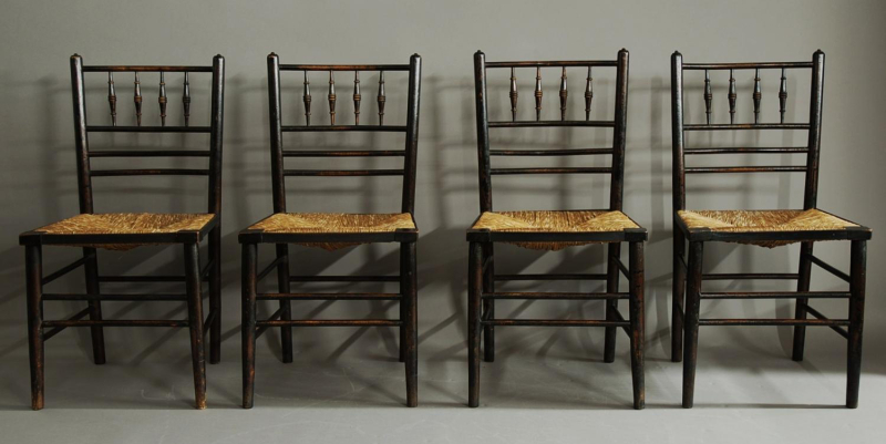 Sussex chairs by Morris & Co