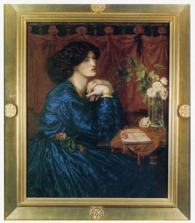 ''The Blue Dress'' by Rossetti