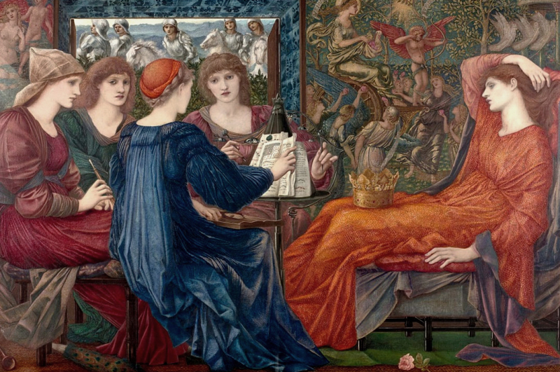 Laus Veneris by Sir Edward Burne-Jones