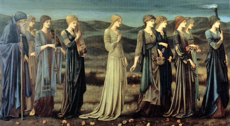 The Wedding of Cupid & Psyche by Sir Edward Burne-Jones