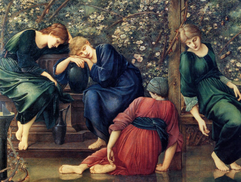 Briar Rose sequence by Sir Edward Burne-Jones