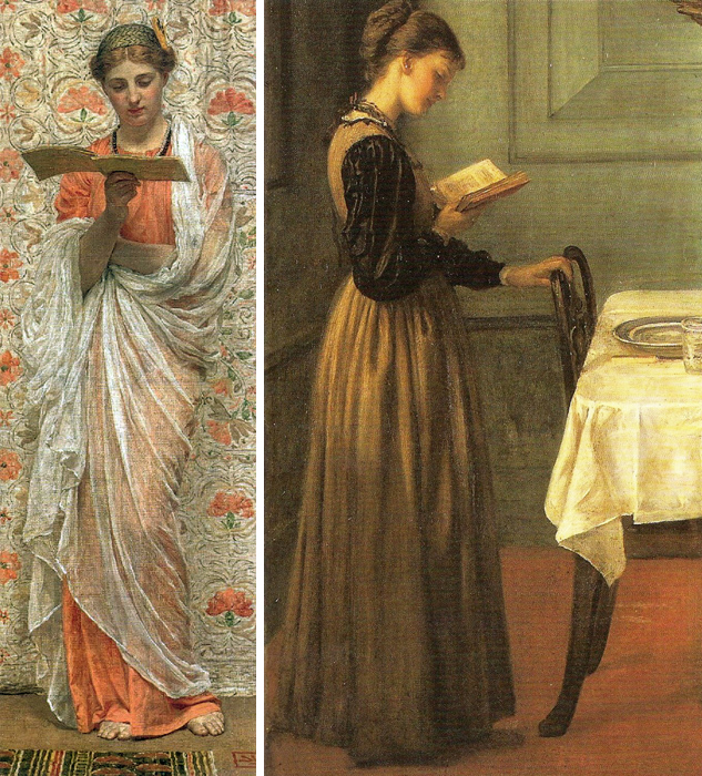 Readers by Albert Moore and Valentine Prinsep