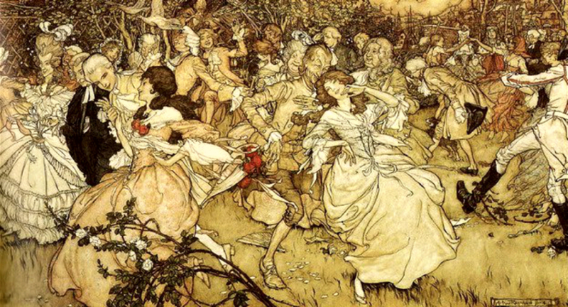 The Dance by Arthur Rackham