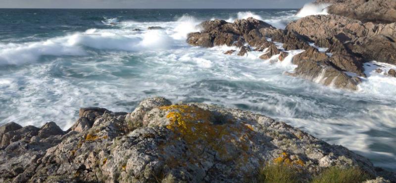 Ballyhaugh Coastline  Island of Coll; photograph by Allan McKechnie