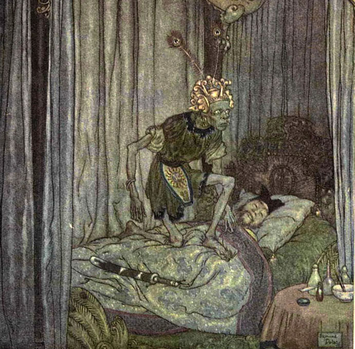 Death Visits the Emperor by Edmund Dulac
