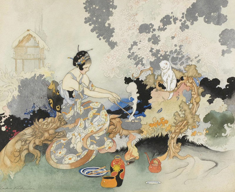 Casting a Spell by Charles Robinson