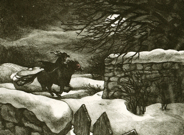 The Highwayman by Charles Mikolaycak