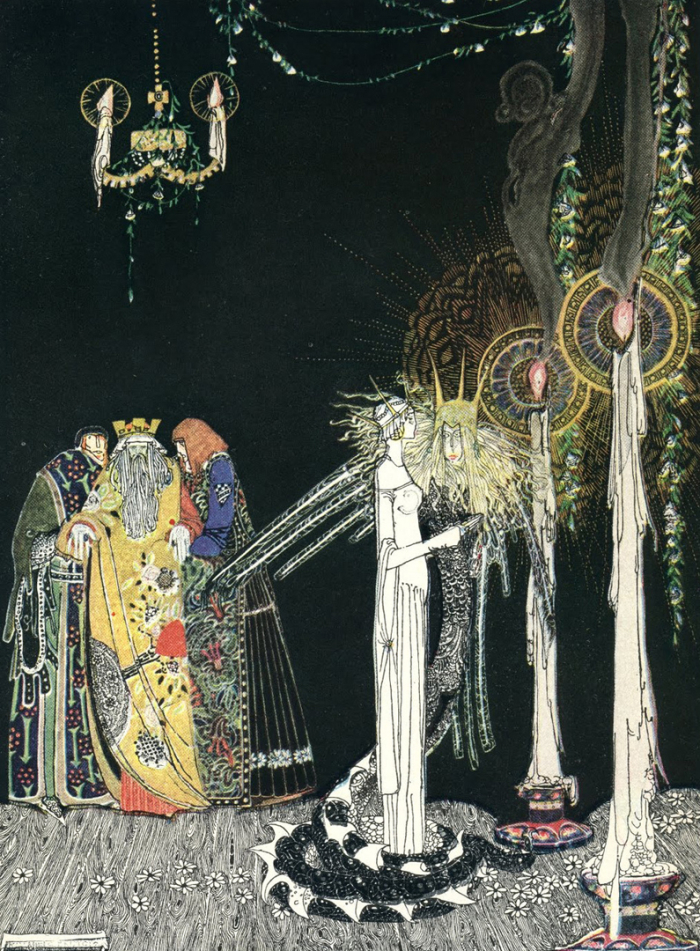 From East of the Sun  West of the Moon illustrated by Kay Nielsen