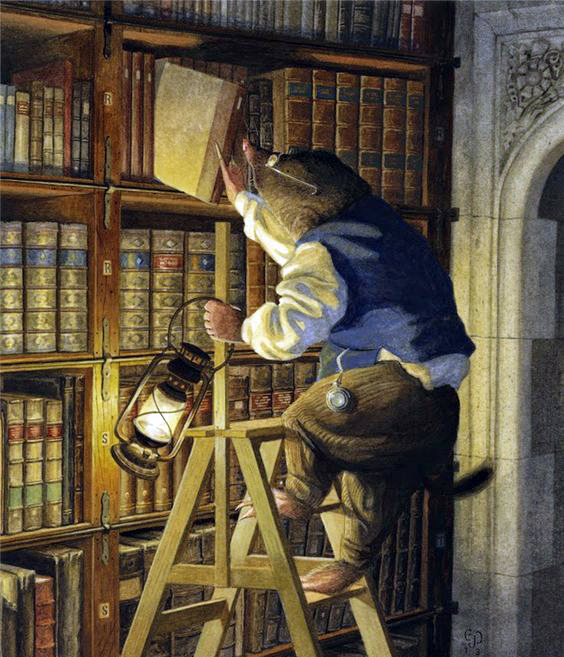 Night-time Reading by Chris Dunn